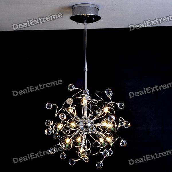 Indoor 15-light Modern Crystal Chandelier (K9 Crystal)