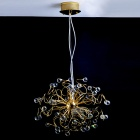 Modern Golden Crystal Chandelier (K9 Crystal)