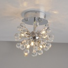 Contemporary Globe Shape Crystal Chandelier (K9 Crystal)