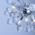 Globe Shape 6-light Crystal Chandelier (K9 Crystal)