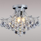 Indoor 3-light Luxury Crystal Chandelier (110~120V)
