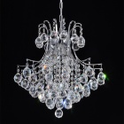 Elegant 3-light Chrome Crystal Chandelier (110~120V)