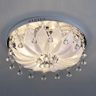 Luxuriant Crystal Flush Mount with G4 Lightings in White