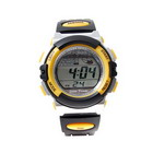 Solar Powered Sports Watch (Yellow)
