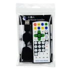 Super Compact Media Center IR Remote Controller with USB Receiver