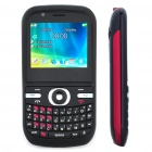 "T6 2.2"" LCD Dual SIM Dual Network Standby Quadband GSM TV Cell Phone w/ JAVA/FM - Black"