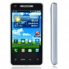 "T9188 3.8"" Capacitive Android 2.2 Single SIM Quadband GSM TV Cell Phone w/ Wi-Fi/FM - Silver"