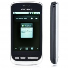 "A5 3.2"" Touch Screen Android 2.3 Dual SIM Quadband GSM TV Cell Phone w/ Wi-Fi/FM - Black"