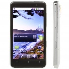 "H7000 4.3"" Capacitive Android 2.2 Dual SIM Quadband WCDMA GSM Cell Phone w/ GPS/Wi-Fi - White"