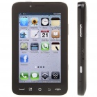 "M3 5.0"" Touch Screen Dual SIM Dual Network Standby Quadband GSM TV Cell Phone w/ Wi-Fi/JAVA - Black"
