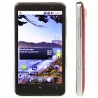 "H7000 4.3"" Capacitive Android 2.2 Dual SIM Quadband WCDMA GSM Cell Phone w/ GPS/Wi-Fi - Red"