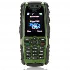 "Impact Defender L9 1.8"" LCD Dual-SIM Dual-band GSM Cell Phone w/ Flashlight/TF - Army Green"
