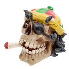 Rasta Skull Ashtray