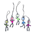 Stick-Man Cell Phone Charms (12-Pack)