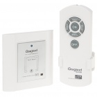 Intelligent Touch Switch with IR Remote Control - White
