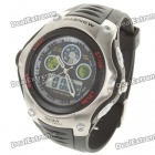 Pasnew Sport Waterproof Quarz Analog Digital Armbanduhr w / Wecker / Timer (1 x CR2016)