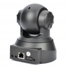 300KP Wired Network Surveillance IP Camera w/ 10-LED Night Vision - Black