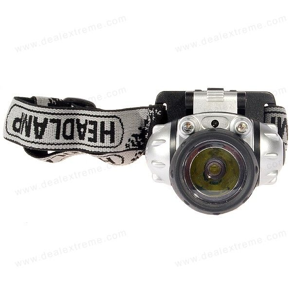 3W LED Headlamp (3 x AAA)Headlamps<br>Quantity1 DX.PCM.Model.AttributeModel.UnitForm  ColorRedMaterialPlasticEmitter BrandOthers,LEDLED TypeOthers,LEDEmitter BINothers,LEDColor BINCold WhiteNumber of Emitters1Working Voltage   3.6 DX.PCM.Model.AttributeModel.UnitPower Supply3 x AAACurrent- DX.PCM.Model.AttributeModel.UnitActual LumensN/A DX.PCM.Model.AttributeModel.UnitRuntime- DX.PCM.Model.AttributeModel.UnitNumber of Modes3Mode ArrangementHi,Mid,Slow StrobeMode MemoryNoSwitch TypeForward clickySwitch LocationSideLensPlasticReflectorPlastic SmoothBand Length45 DX.PCM.Model.AttributeModel.UnitCompatible Circumference-Beam Range10 DX.PCM.Model.AttributeModel.UnitOther FeaturesNow features a Cree emitter<br> Dual power mode for maximum battery utilization<br> Flashing red LEDs mode for warning purposePacking List1 x Headlamp<br>
