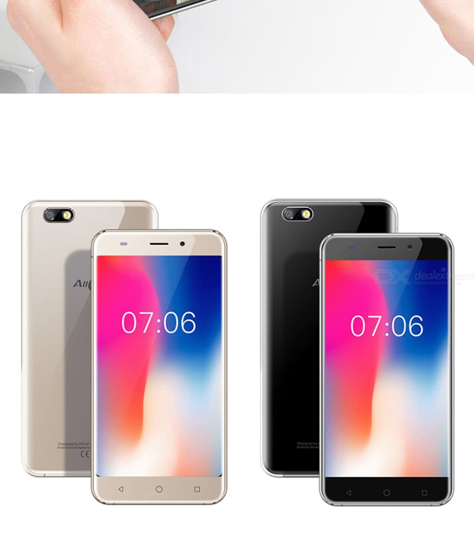 AllCall Madrid 5 5-Inch Android 7 0 MT6580 Quad-core 3G Mobile Phone