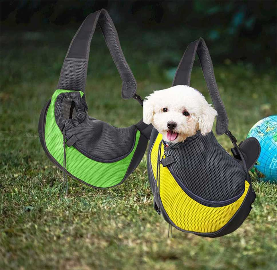 Transport & Travel Supplies - Pet Dog Sling Carrier Breathable Mesh Travel  Safe Sling Bag Carrier For Dogs Cats was listed for R367.85 on 30 Mar at  11:27 by The USB Shop in Outside South Africa (ID:437721835)