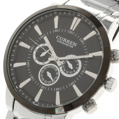 Stylish Stainless Steel Water Resistant Wrist Watch (1 x LR626)