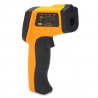 """1.5"""" LCD Digital Infrared Thermometer - Yellow + Black"""