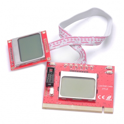 PTI8 Diagnostic Post Test Card Debug Card for Desktop & Laptop (Mini PCI-E/Mini PCI/LPC)