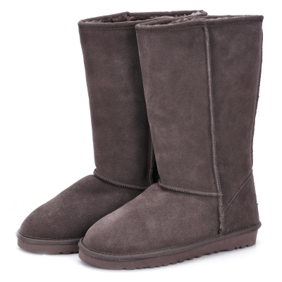 Stylish Women's Winter Warm Snow Boots Shoes - Brown (Size 39)