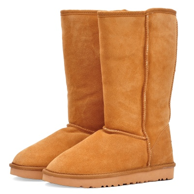 Stylish Women's Winter Warm Snow Boots Shoes - Light Brown (EUR Size-40)