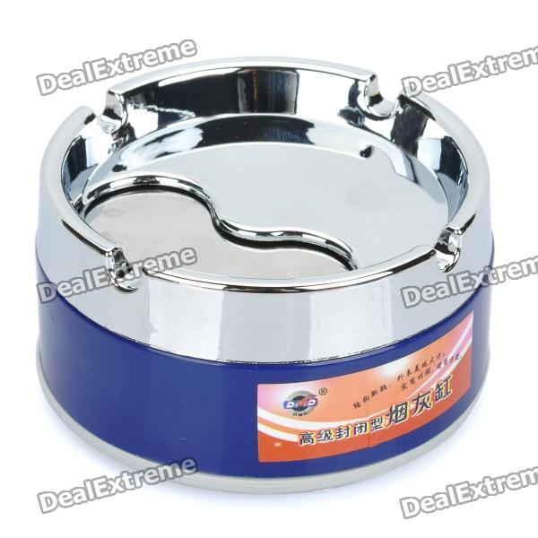 Stainless Steel Rotatable Cover Cigarette Ashtray (Size-S)