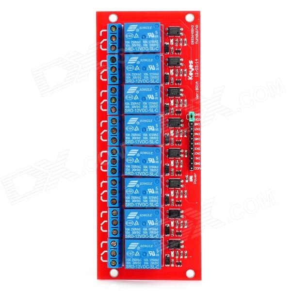 Keyes 8-Channel 12V Relay Module for Arduino