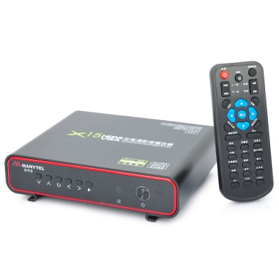 X15 1080P 3D High Definition HDD Multi-Media Player - Black