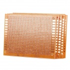 Prototype Universal Printed Circuit Board Breadboard - Brown (5PCS)