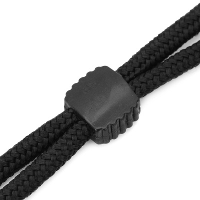 Sports Elastic Nylon Strap Cord for Glasses - Black (Length 62cm)