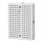 Mini Prototype Printed Circuit Board Breadboard - White