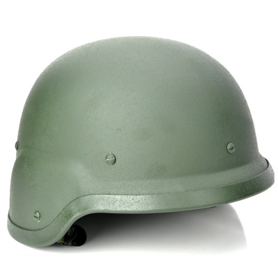 M88 Outdoor Tactical Pure Steel War Game Helmet - Army Green