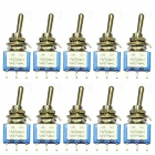 Electrical DIY Power Control 3-Pin Toggle Switch (10PCS)