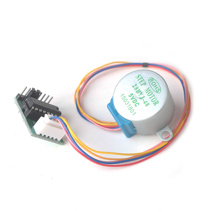 DC 5V 4-Phase 5-Wire Step Motor + Driver Board Test Module for Arduino