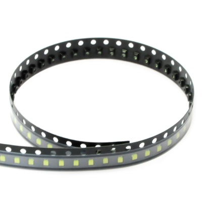 0805 250mcd 6000K Cold White SMD LED Module Strip (3.0-3.4V / 100 PCS)