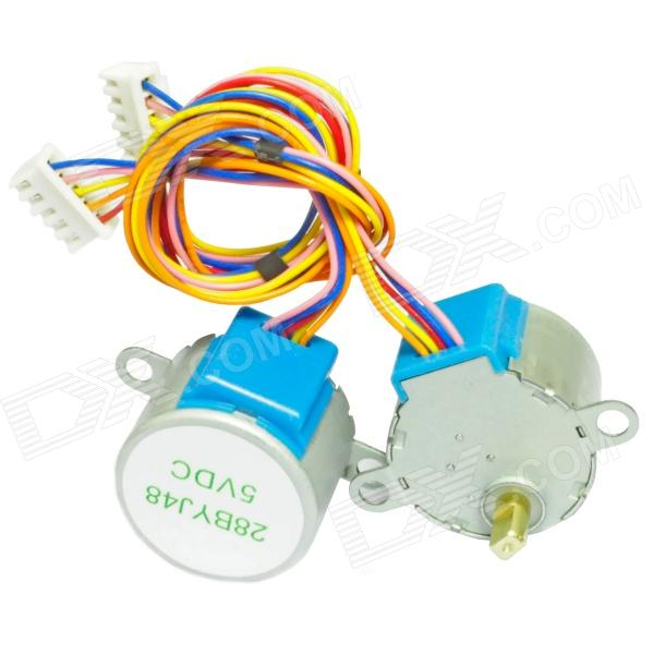 DC 5V 28YBJ-48 Stepper Motor for Arduino (2PCS)