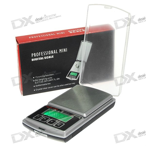 Precision Digital Pocket Scale (200g Max / 0.01g Resolution)