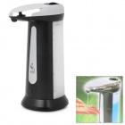 Touch-Free Soap Sanitizer Dispenser w/ Optional Musical Chime - Black