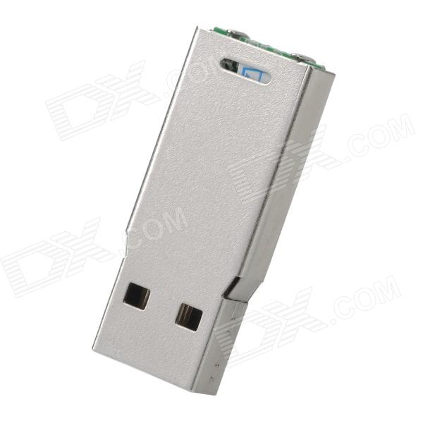 Mini USB 2.0 Flash Drive - Silver (8GB)