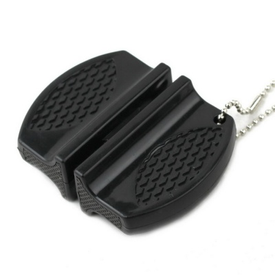 Small-sized Exquisite Portable Knife Sharpener - Black