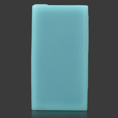 Protective Silicone Case for IPOD Nano 7 - Blue Green