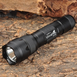 UltraFire WF-502B 800lm 3-Mode Memory White Flashlight (1*18650)