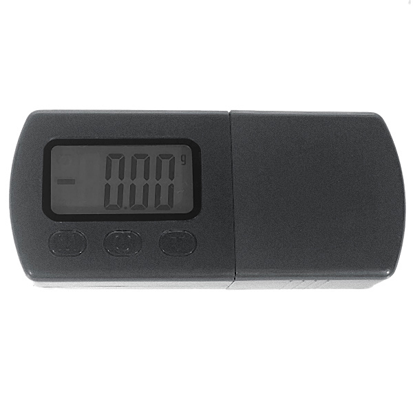 Digital Precision Scale with Leather Case (5g Max / 0.01g Resolution)