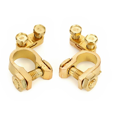 Copper Battery Terminal Connector for Car (Size L / 2 PCS)