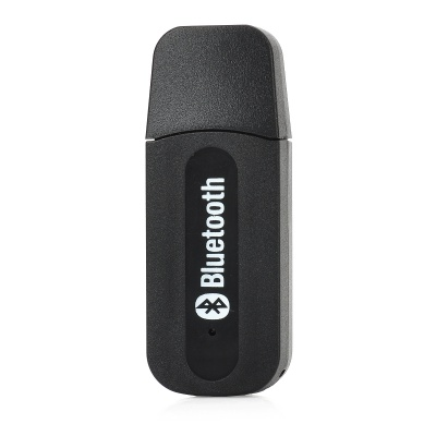 Bluetooth V2.0+EDR USB Drive Audio Receiver w/ 3.5mm Cable - Black