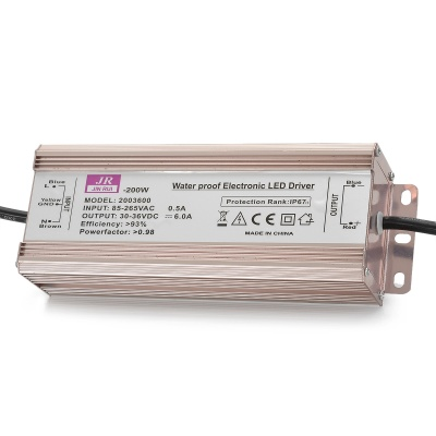 Water Resistant 200W LED Constant Current Source Power Supply Driver (85~265V)